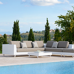 Rausch Luxury Collection; Sofa, Couch Table, and Ottoman