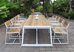 Mamagreen Outdoor Furniture, Baia Dining Collection