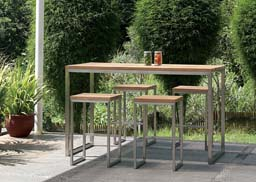 Mamagreen Outdoor Furniture, Oko High Dining Collection