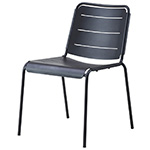 Cane-line Copenhagen Dining Sice Chair or City Chair Lava Gray Aluminum