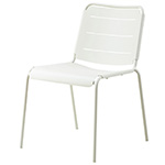 Cane-line Copenhagen Dining Side Chair or City Chair White Aluminum