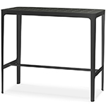 Cane-line Cut High and Low Aluminum Bar Table Black