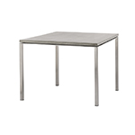 Cane-line Pure Outdoor Dining Table Square Stainless Steel