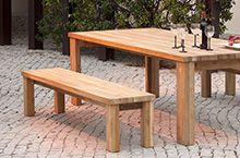 Barlow Tyrie Titan Backless Bench