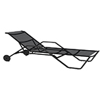 Gloster 180 Stacking Lounger (Meteor/ charcoal)
