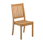 Gloster Kingston Stacking Dining Side Chair