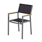 Gloster Luna Stacking Dining Armchair