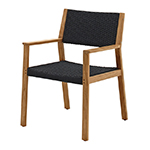 Gloster Maze Dining Armchair