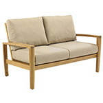 Gloster Oyster Reef 2-Seater Sofa