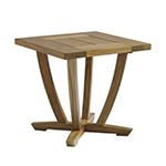 Gloster Oyster Reef Square End Table
