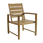 Gloster Oyster Reef Dining Armchair