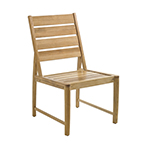 Gloster Oyster Reef Dining Side Chair