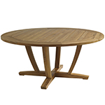 Gloster Oyster Reef Round Dining Table