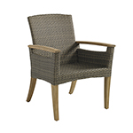 Gloster Pepper Marsh Dining Armchair