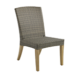 Gloster Pepper Marsh Dining Side Chair