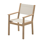 Gloster Solana Dining Armchair, Canvas Sling