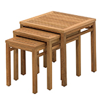 Gloster Standards Nesting Side Tables