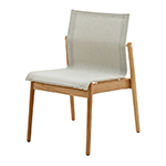 Gloster Sway Stacking Dining Side Chair, Seagull� width=