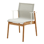 Gloster Sway Stacking Dining Armchair, Seagull� width=