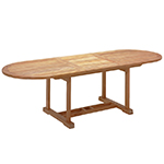 Gloster Bristol Oval Extending Dining Tables