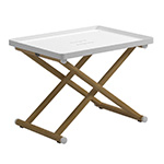 Gloster Voyager Folding Tray Stand