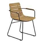 Gloster William Dining Armchair, Meteor