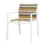 Mamagreen Stripe Stacking Dining Armchair