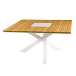 Mamagreen Ekka Square Dining Table with Ice Bin