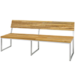 Mamagreen Oko Collection Bench with Backrest
