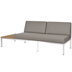 Mamagreen Polly Right-Hand Sectional Stainless Steel