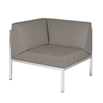 Mamagreen Polly Corner Seat Stainless Steel