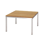 Mamagreen Polly Square Lounge Table Stainless Steel