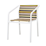 Mamagreen Stripe Bistro Chair