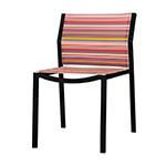 Mamagreen Stripe Modern Stacking Dining Side Chair