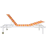 Mamagreen Stripe Lounger Two Sides Reclining