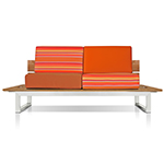 Mamagreen Oko Lounge 2-Seater without Bolsters, Sunset Palette