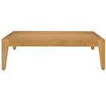 Mamgreen Twizt Sectional Low Square Coffee Table