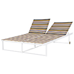 Mamagreen Stripe Double Lounger