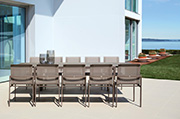 Sifas Outdoor Furniture, Kwadra Dining Collection