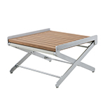 Sifas Oskar Side Table with Synteak Top