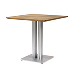 Sifas Oskar Square Dining Tables, Synteak Top