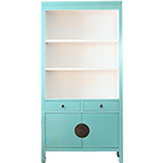 Red Egg Hong Kong Bookcase, Custom Options Available