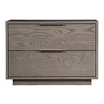 Danforth 32in Two Drawer Nightstand, Custom Options Available