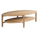 Marcella Oval Cocktail Table, Custom Options Available