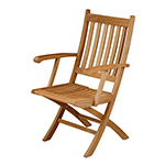 Barlow Tyrie Ascot Folding Dining Carver Chair