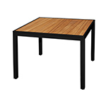 Mamagreen Allux Square Dining Tables, Black
