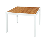 Mamagreen Allux Square Dining Tables, White