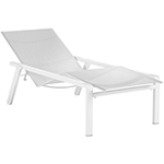 Royal Botania Alura Erconomic Loungers with Wheels