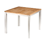 Barlow Tyrie Aura Square Dining Tables, White� width=