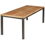 Barlow Tyrie Aura Dining Tables, Graphite